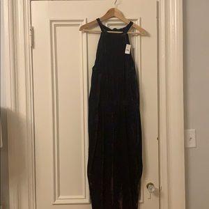 Velvet jumpsuit